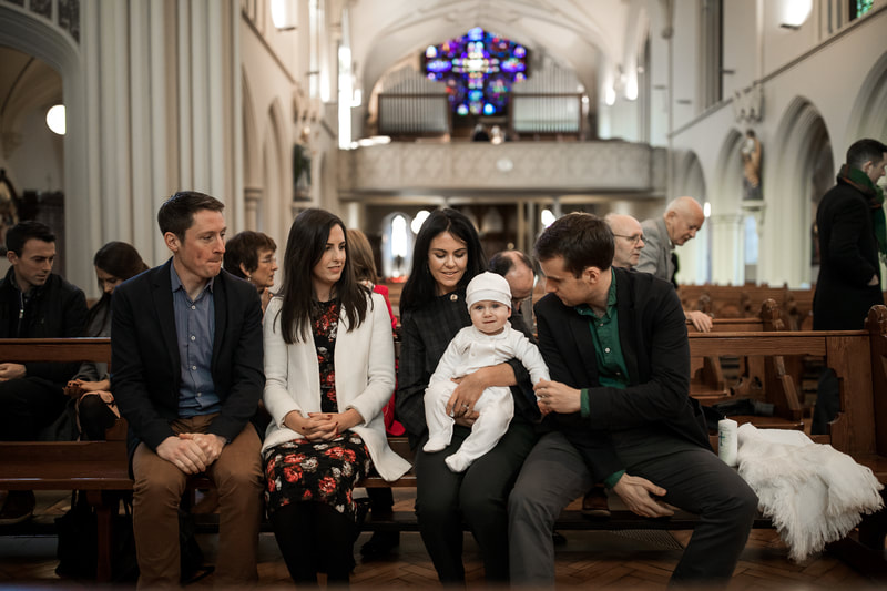 Christening, Baptism photography service in Dublin. Photographer www.BubblyDot,ie